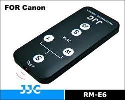 JJC RM-E6 пульт ДУ для цифровых камер Canon RC-1 WL-DC100