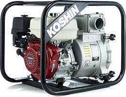 Мотопомпа  для  грязной  воды  Koshin  KTH-80S  (0668691)