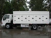 Фургон для перевозки замороженых продуктов