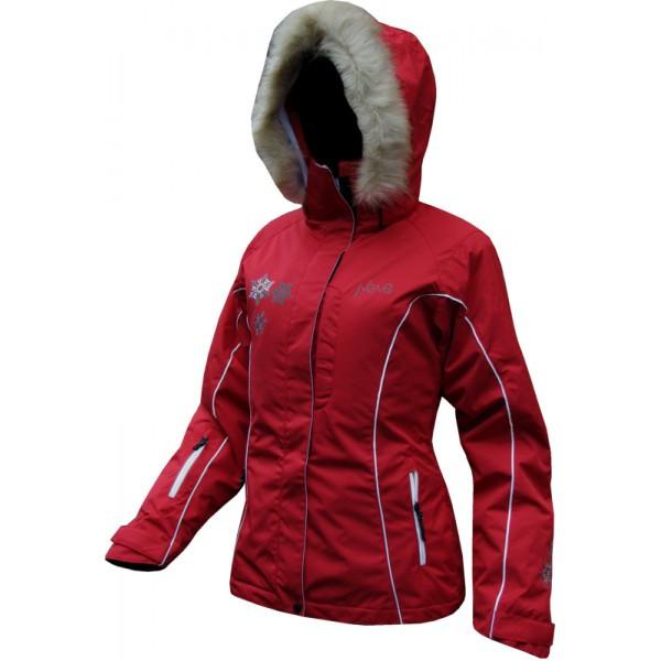 Женская горнолыжная куртка Neve Naja красная