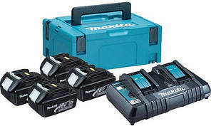 Набор  аккумуляторов  LXT  Makita  BL1830  18  В  (197720-6)