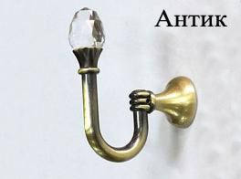 Крючок (подхват для штор) с кристалом
