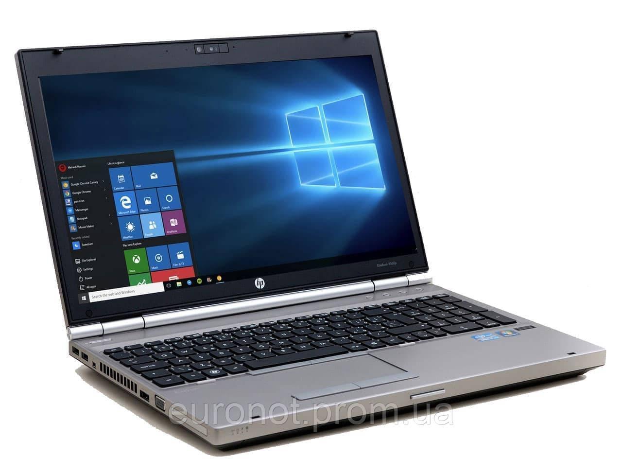 Ноутбук HP EliteBook 8560p (i7-2620M|8GB|120SSD)