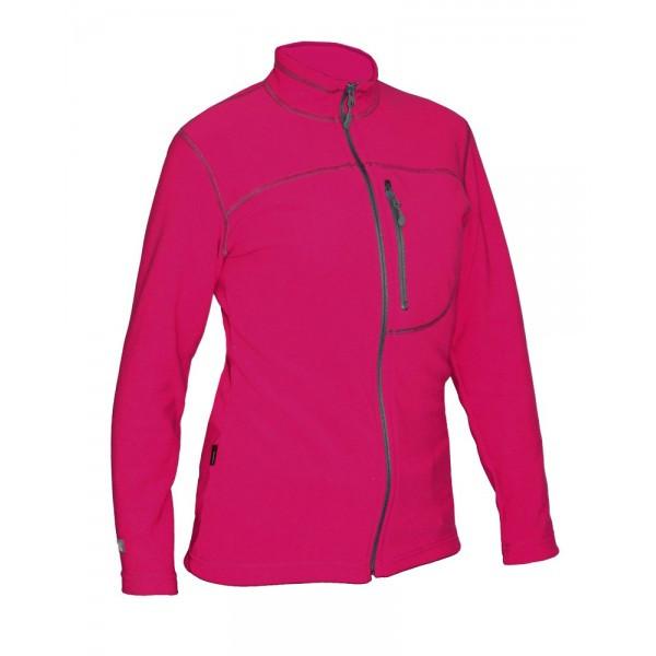 Женская спортивная флисовая кофта Neve Malta розовая