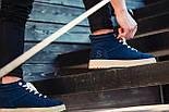 Черевики - чоловічі черевики на шнурках South dark navy blue зима, фото 3