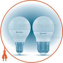 """Сфера Лампа світлодіодна """"CRYSTAL_Gold"""" G45 5W PA Е27 4K"""