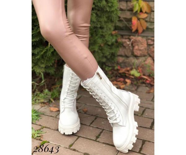 Черевики високі на шнурівці Nina mi