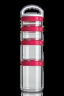 Контейнер спортивный BlenderBottle GoStak Starter 4 Pak Pink (ORIGINAL)