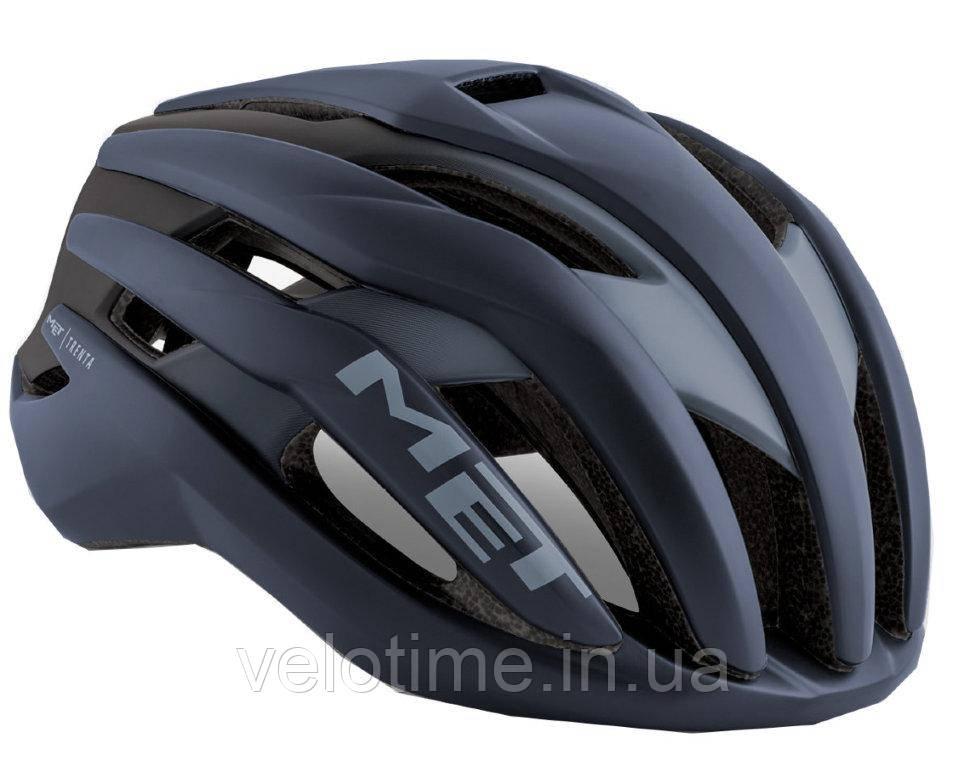 Шлем Met Trenta   (Shaded Dark Gray/Matt Glossy 52-56 cm)