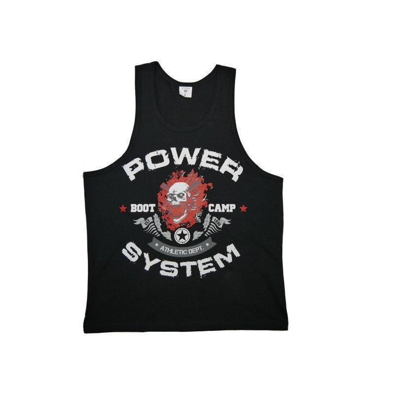 Майка для фитнеса и бодибилдинга Power System PS-8000 Boot Camp M Black