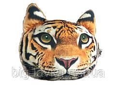 Подушка-подголовник с 3D принтом животных автомобильная