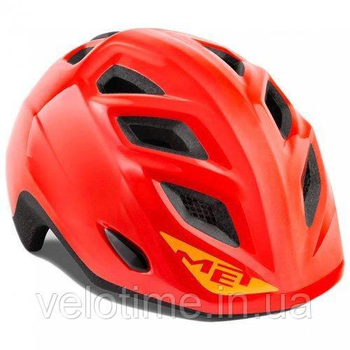 Шлем Met Elfo  (Red | Glossy 46-53 cm)
