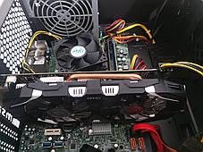 1stPlayer A2 Tower NEW / Intel Core i7-2600 (4 (8) ядра по 3.4 - 3.8 GHz) / 16 GB DDR3 / 240 GB SSD+500 GB HDD / nVidia GeForce GTX 1060, 6 GB GDDR5,, фото 3