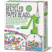 Набор для создания экоукрашений Бумажные бусины 4М (00-04588)