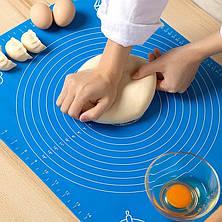 Коврик силиконовый для раскатки и выпечки теста  49.5*39.5*0.1 см, фото 2