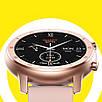 Умные часы No.1 DT89 Silicon с тонометром и пульсоксиметром Rose Gold (swno1dt89silgol), фото 5