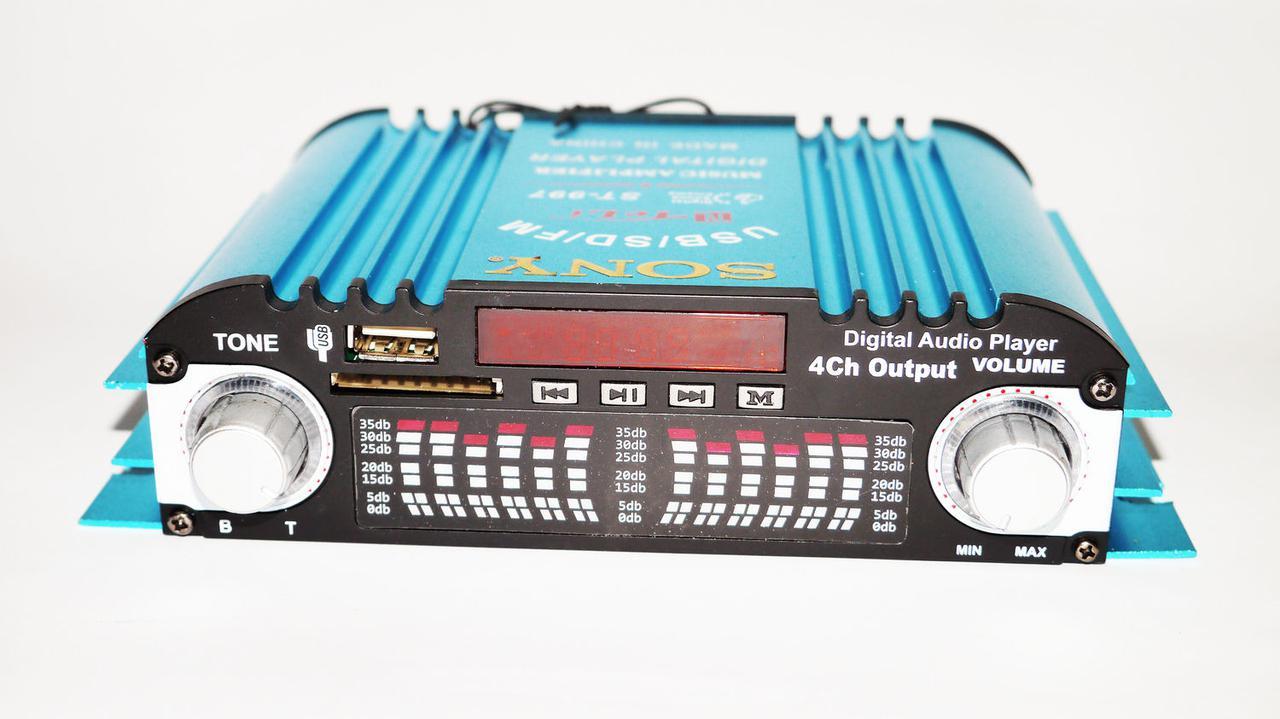 Автомобильный усилитель звука Sony ST-997 автомобильный 4-канальный