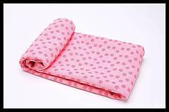 Йогамат, килимок для фітнесу, мікрофібра, рожевий