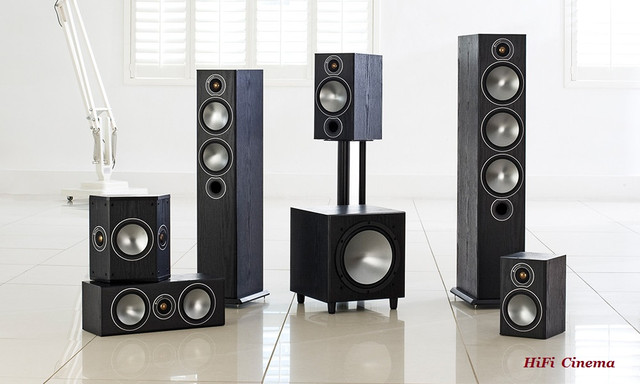 Monitor Audio Bronze family Black Oak HiFi Cinema