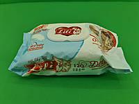 """Влажная салфетка 120шт"""" LILI DELUXE """" Календула и витамин Е (1 пач), фото 1"""