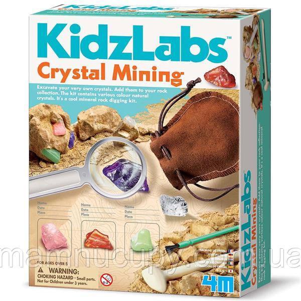 Набір для досліджень 4M Видобуток мінералів (00-03252)