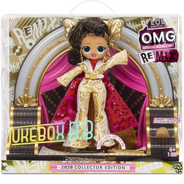 L.O.L. Surprise! S4 кукла сюрприз Селебрити на сцене 569879 O.M.G. Remix 2020 Collector Edition Jukebox B.B