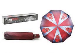 """Зонтик складной """"Flagman. Орхидея"""", красный 00510/0"""