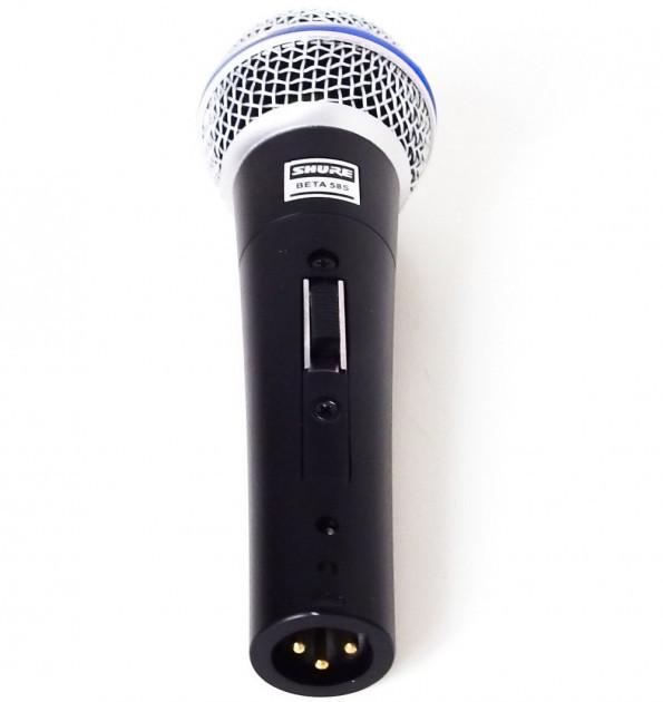 Микрофон проводной Shure DM Beta 58S Black