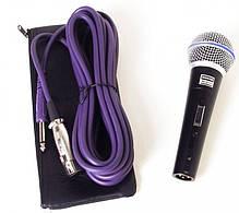 Мікрофон провідний Shure DM Beta 58S Black, фото 2