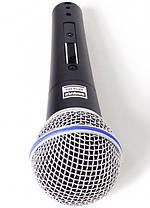 Мікрофон провідний Shure DM Beta 58S Black, фото 3