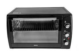Электрическая печь духовка Camry CR 6017 63л 2200W Black (111483)
