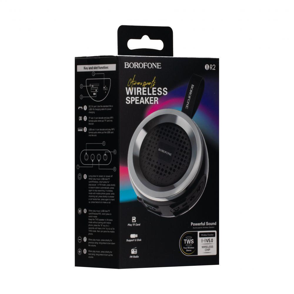 Портативная Bluetooth колонка Borofone BR2