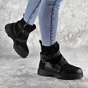 Ботинки женские зимние Fashion Lana 2317 36 размер 23,5 см Черный