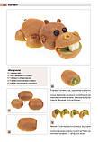 Кумедні фігурки з овочів, фруктів і ягід, фото 4