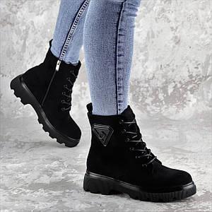 Ботинки женские Fashion Elmo 2267 36 размер 23,5 см Черный