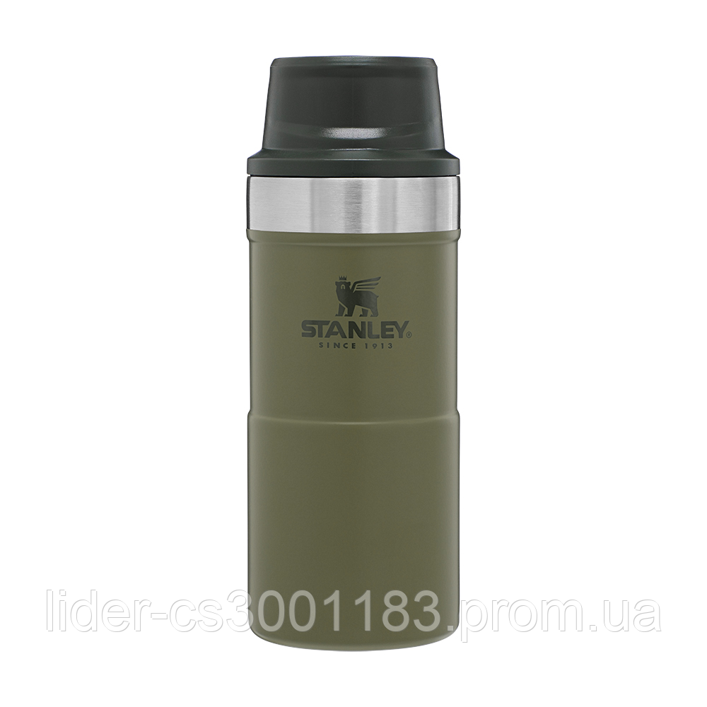 Термочашка Stanley Classic Trigger-action Olive Drab 0.35 л