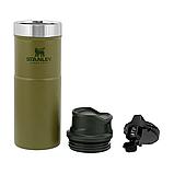 Термочашка Stanley Classic Trigger-action Olive Drab 0.47 л, фото 3