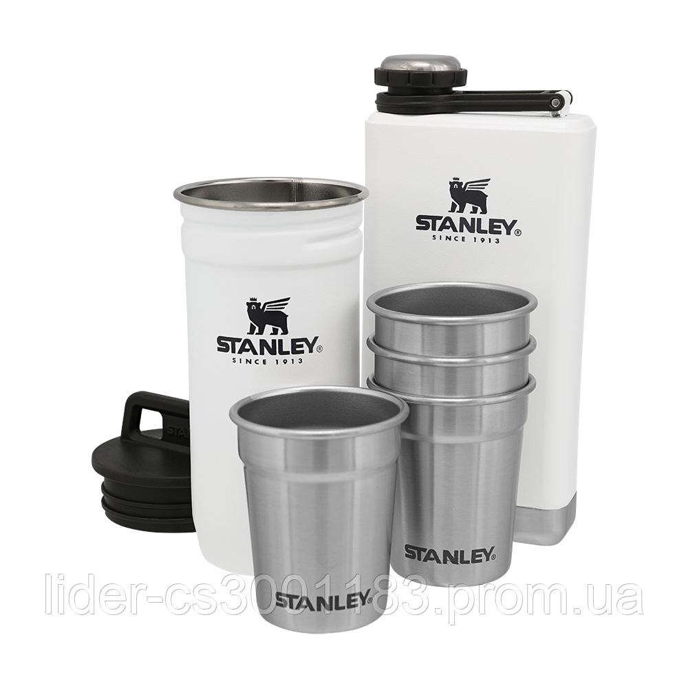 Подарунковий набір Stanley Adventure Polar: 2 фляги та 4 рюмки