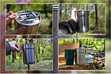 Набір туристичного посуду Stanley Adventure Camp  SS 0.7 л, комплект, фото 6