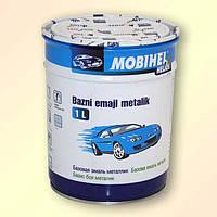 Краска металлик, базовая эмаль Mobihel Изумруд 385 100мл