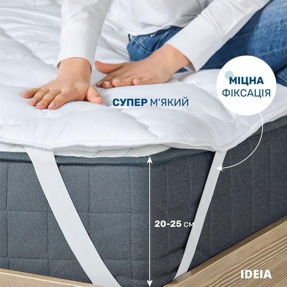 Наматрасник Ideia Lux 90*200 см микрофибра/синтепон на резинках арт.8000011977