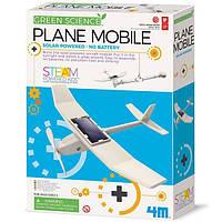 Набор для исследований 4M Самолет на солнечной батарее (00-03376), фото 1