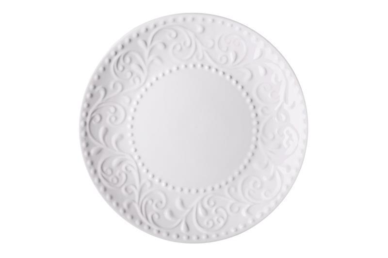 Тарелка десертная Ardesto Olbia White AR-2919-WC 19 см