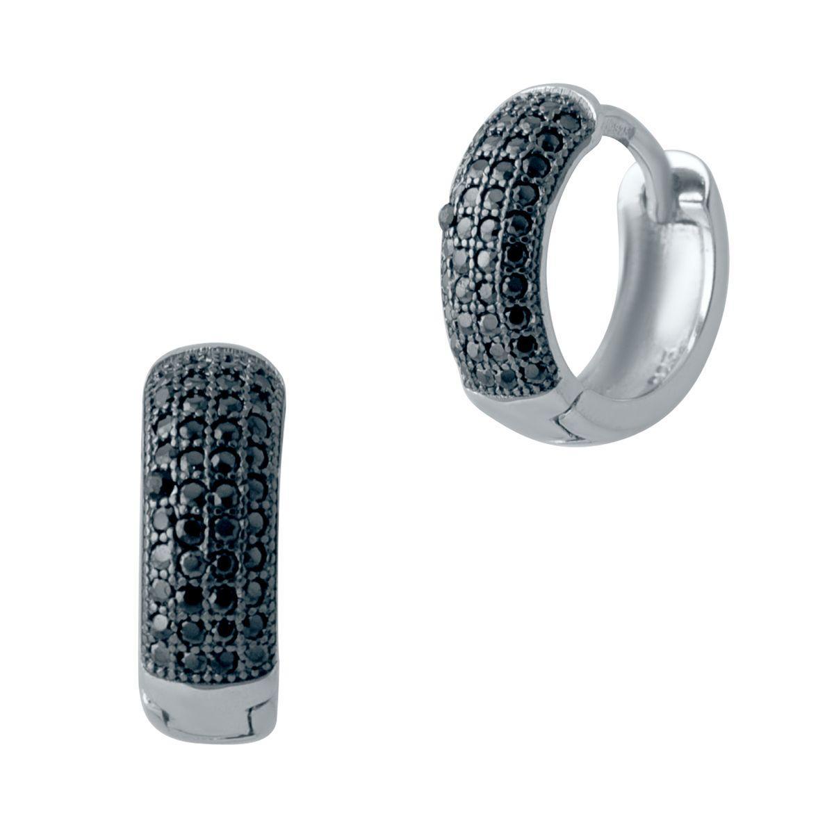 Серебряные серьги DreamJewelry с фианитами (2006503)