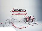 Велопарковка на 8 велосипедів Echo-8 на стіну Польща, фото 8