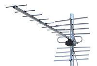Телевизионная антенна т2 пассивная ДМВ диапазона - Dipol 19/21-69