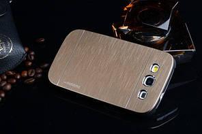 Чехол для Samsung Galaxy Win I8552 motomo металлический