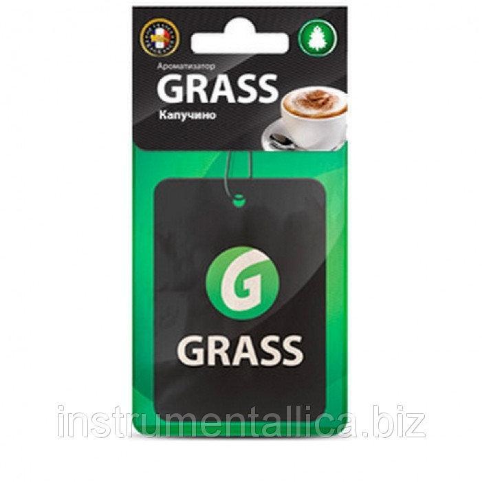 Ароматизатор GRASS картонний Капучіно AC-0141