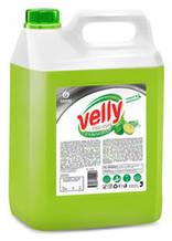 """Засіб для миття посуду GRASS """"Velly"""" Premium лайм і м'ята 5л 125425"""