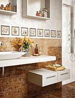 CENTURIAl (Центуриал) плитка Intercerama облицовочная 230х600 коричневая для ванной, для стен и пола
